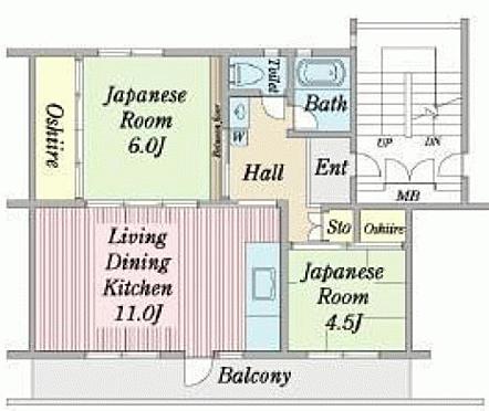 中古マンション-成田市中台3丁目 間取り