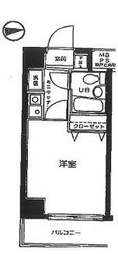 マンション(建物一部)-横浜市神奈川区大口通 間取り