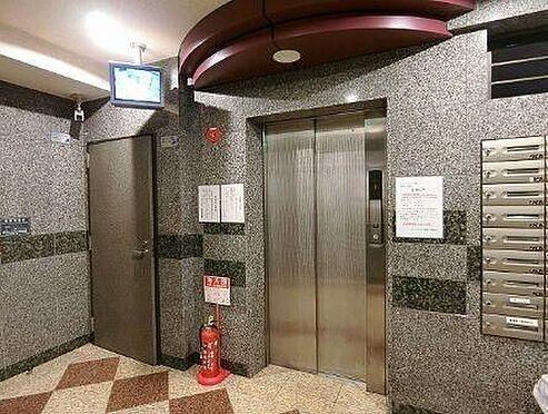 マンション(建物一部)-大阪市中央区松屋町住吉 エレベータ―には防犯カメラあり