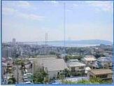 明石海峡大橋が望める眺望です