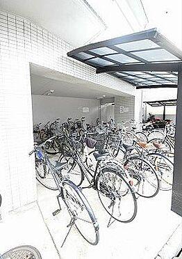マンション(建物一部)-京都市上京区福大明神町 屋根のある駐輪場あり
