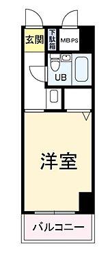 中古マンション-大阪市福島区吉野4丁目 間取り