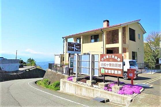 中古一戸建て-伊豆の国市奈古谷 小松ケ原別荘地の管理事務所です。ゴミ置き場やポストがあります。