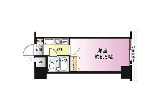 マンション(建物一部)-京都市中京区壬生仙念町 単身者に人気のセパレートタイプ