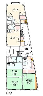 マンション(建物全部)-大田区大森中2丁目 2階平面図 住居3戸