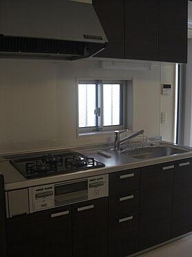 アパート-流山市おおたかの森北1丁目 グリル付システムキッチン採用。