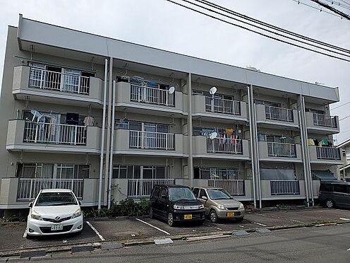 アパート-静岡市駿河区登呂1丁目 南側から。