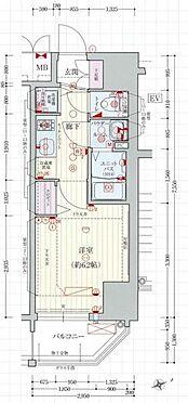 マンション(建物一部)-大阪市西区北堀江4丁目 間取り