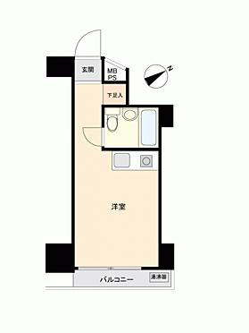 中古マンション-横浜市中区弁天通 間取り