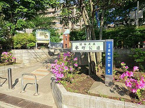 マンション(建物全部)-新宿区西新宿5丁目 周辺環境:本町公園