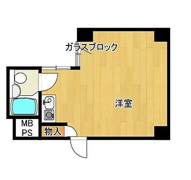 区分マンション-大阪市中央区南船場4丁目 間取り