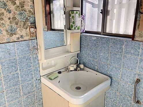 中古一戸建て-豊田市水源町2丁目 洗面からお化粧まで!忙しい朝の準備にぴったりな洗髪洗面化粧台付き。