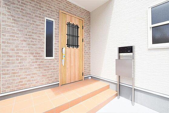 新築一戸建て-仙台市太白区西の平1丁目 玄関