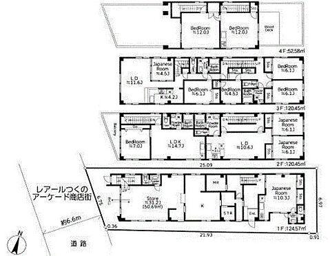 住宅付店舗(建物全部)-横浜市鶴見区佃野町 間取り