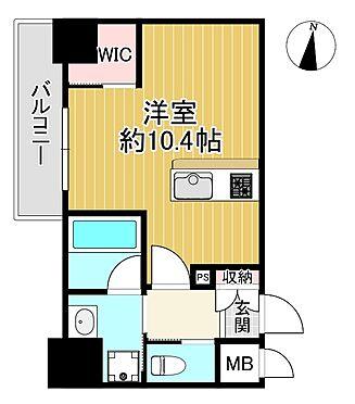 マンション(建物一部)-名古屋市中区新栄1丁目 ハーモニーレジデンス名古屋EASTの間取りです