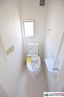 新築一戸建て-仙台市宮城野区岩切字入山 トイレ