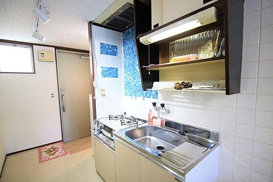 中古マンション-熱海市春日町 キッチン:キッチンも交換済。コンロも新しくグリル機能もございます。