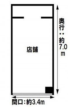 店舗・事務所・その他-大阪市中央区船場中央3丁目 間取り