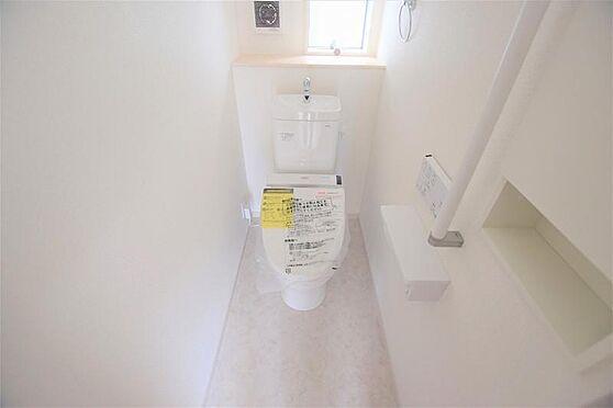 新築一戸建て-仙台市宮城野区鶴ケ谷5丁目 トイレ