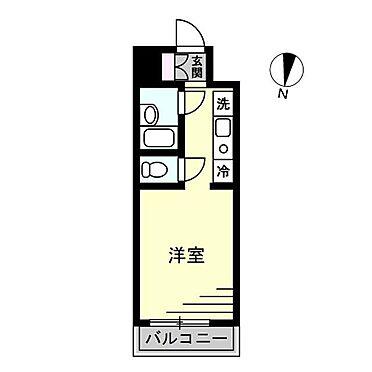 マンション(建物一部)-横浜市磯子区東町 間取り