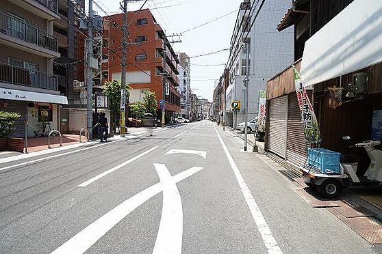 区分マンション-福岡市中央区警固2丁目 前面道路
