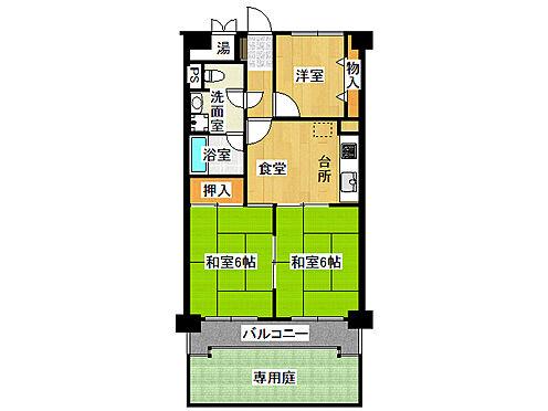 マンション(建物一部)-福岡市南区井尻5丁目 間取り