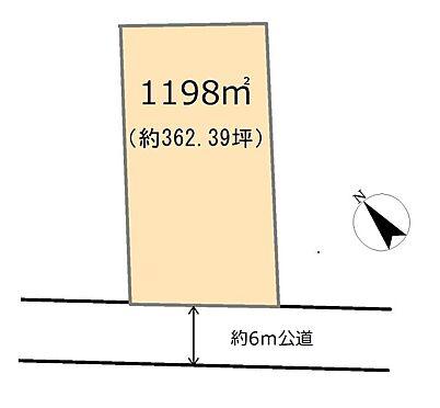 土地-東松山市大字上唐子 区画図