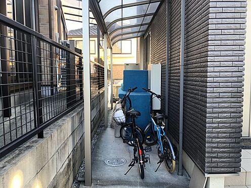 中古一戸建て-豊田市花園町新田 風雨から自転車を守ります