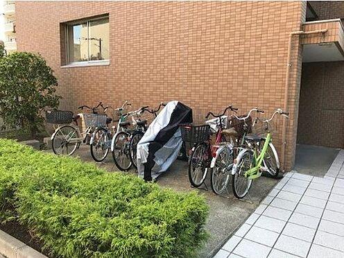 マンション(建物一部)-大阪市北区中津2丁目 見通しの良い駐輪スペース