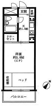 マンション(建物一部)-江東区南砂5丁目 間取り