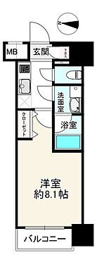中古マンション-江東区新大橋2丁目 間取り