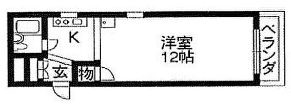 マンション(建物一部)-京都市下京区俊成町 間取り