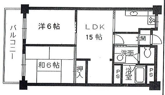 マンション(建物一部)-富田林市寺池台5丁目 間取り
