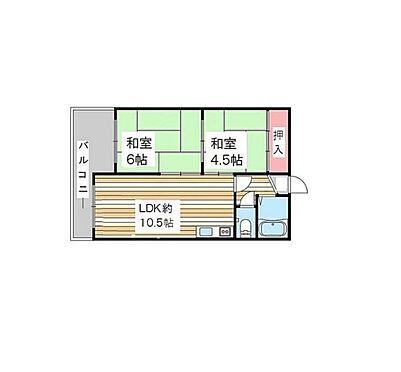 マンション(建物一部)-神戸市東灘区深江南町2丁目 間取り