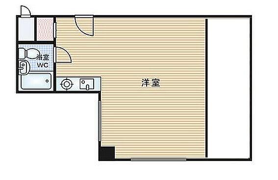 マンション(建物一部)-大阪市中央区内平野町1丁目 トランクルーム付きの1R