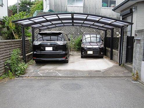 中古一戸建て-町田市小山町 間口5m、大型車1台、軽自動車2台駐車可能