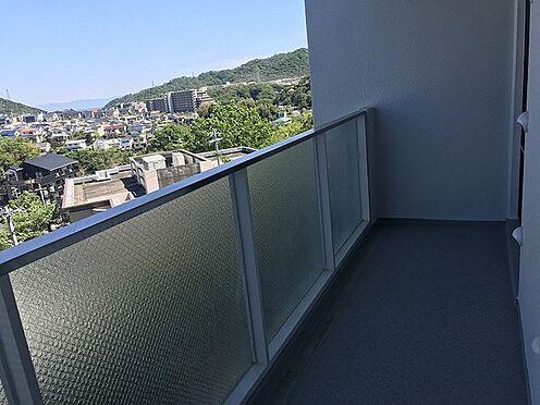 中古マンション-神戸市須磨区車字菅ノ池 バルコニー