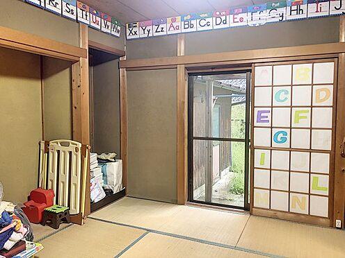 戸建賃貸-岡崎市細川町字鳥ケ根 床の間、障子、畳・・・くつろぎの空間は和室から