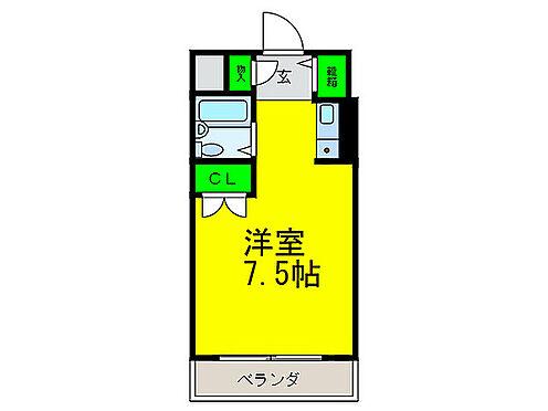 マンション(建物一部)-堺市堺区宿院町西3丁 シンプルな単身者向け物件