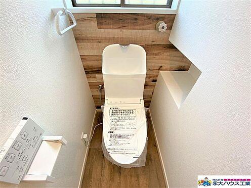中古一戸建て-仙台市泉区松陵5丁目 トイレ
