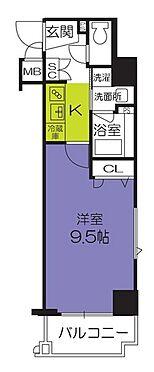 マンション(建物一部)-京都市南区西九条大国町 間取り