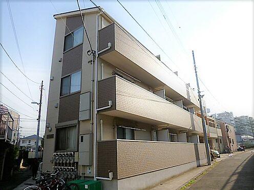 アパート-横浜市神奈川区入江1丁目 平成21年築 地上3階建の賃貸アパートです。満室利回り7.0%です。