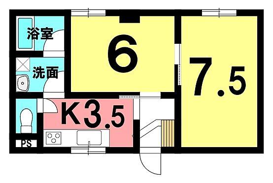 区分マンション-富士見市西みずほ台2丁目 間取り