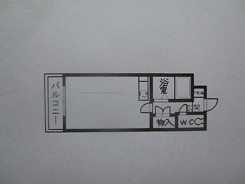 マンション(建物一部)-北九州市八幡西区千代ケ崎1丁目 バルコニーは東南向きです。この間取図の左右反転タイプです。