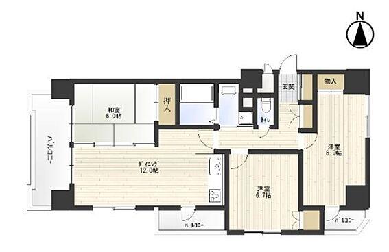 マンション(建物一部)-神戸市長田区房王寺町2丁目 全室開口の健やかな住まい