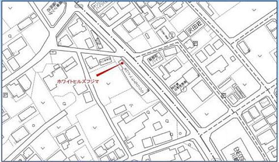 一棟マンション-川越市大字藤間 地図