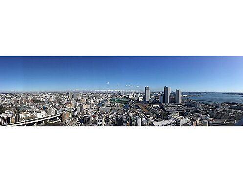 中古マンション-横浜市神奈川区栄町 バルコニーからはパノラマが広がります