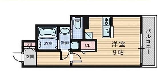 マンション(建物一部)-大阪市淀川区木川東3丁目 間取り