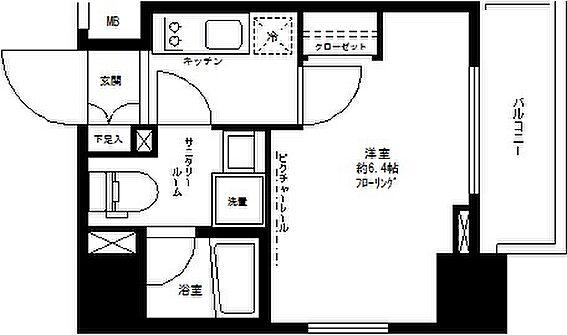 マンション(建物一部)-豊島区東池袋5丁目 間取り