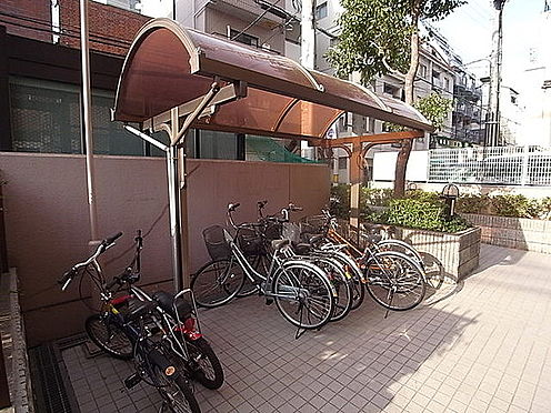 マンション(建物一部)-神戸市中央区東雲通1丁目 屋根付きの自転車置場あり